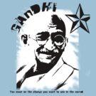 Mahatma Gandhi by sandy1984