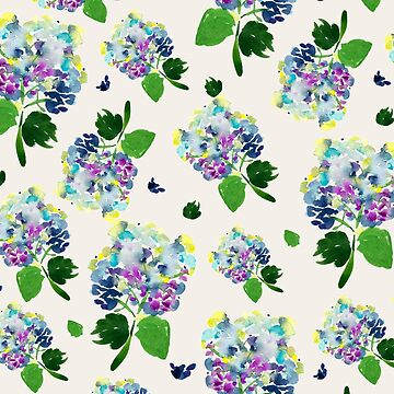Summer Watercolor Floral by luisanino