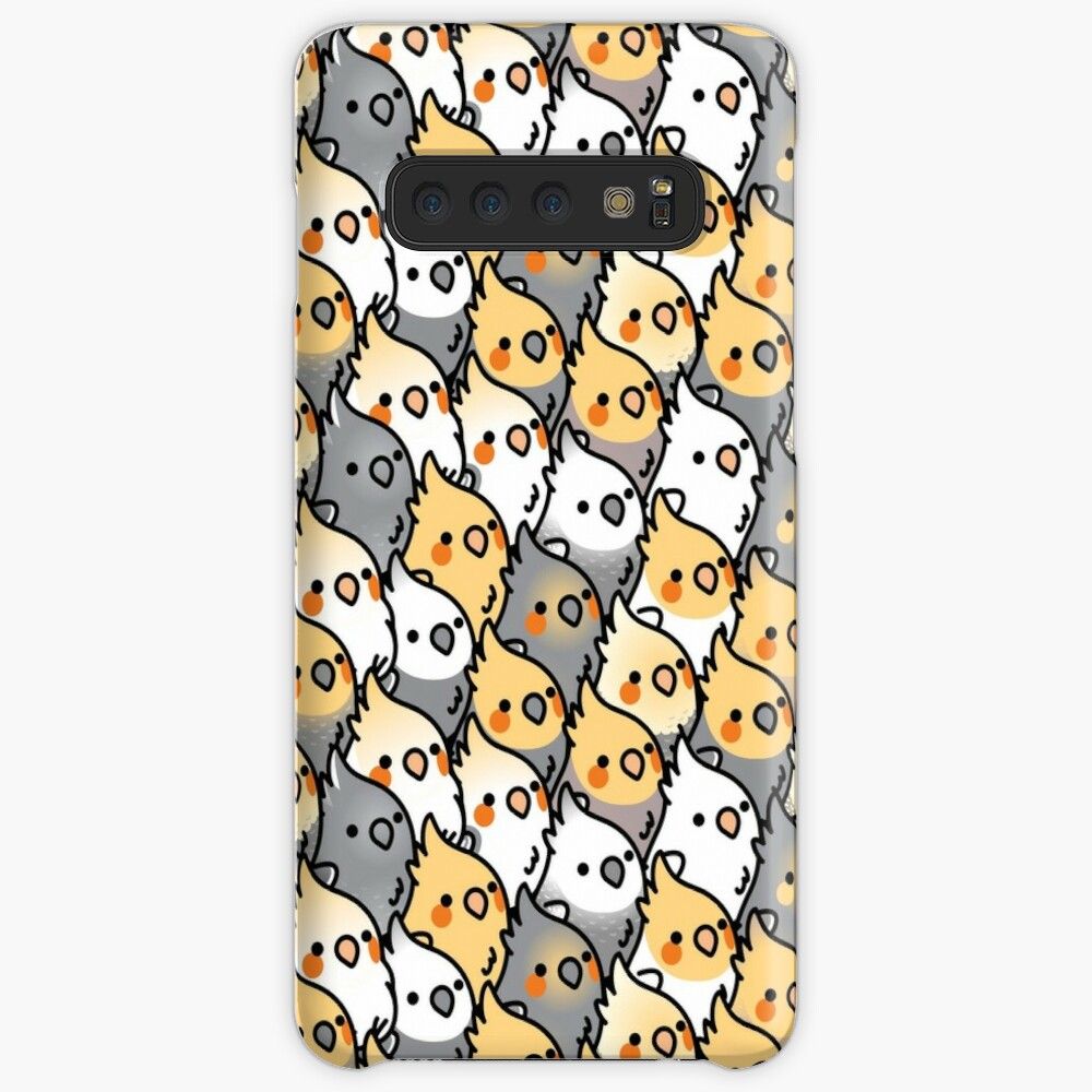 Chubby Cockatiel Party Cases & Skins for Samsung Galaxy