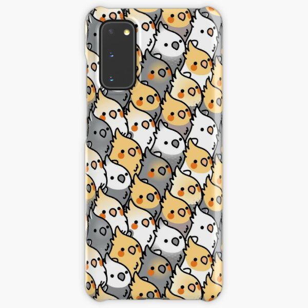 Chubby Cockatiel Party Samsung Galaxy Snap Case