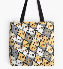 Chubby Cockatiel Party Tote Bag