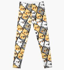 Chubby Cockatiel Party Leggings