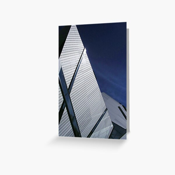 Libeskind's Crystal, Toronto Greeting Card