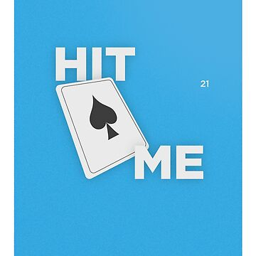 Graphic Poster #21 - Hit Me! by danielalvesa