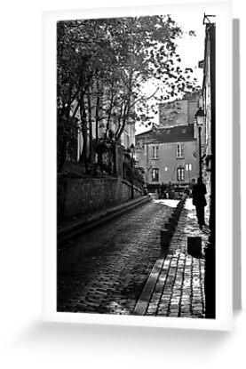 Evocative Paris Street by Steve Rhodes