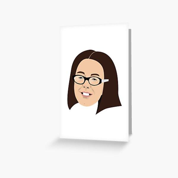 Olive Rudge Greeting Card