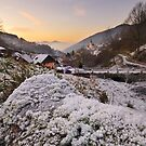 Winter in Reichental by Thomas Peter