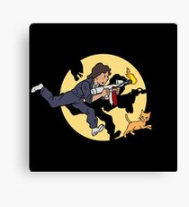 The Adventures of Ripley Canvas Print