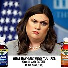 Sarah Huckabee Sanders aka What happens when you take Nyquil and Dayquil at the Same Time by #PoptART products from Poptart.me