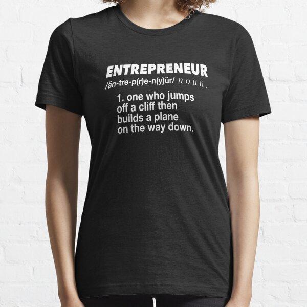 Definition Of An Entrepreneur Essential T-Shirt