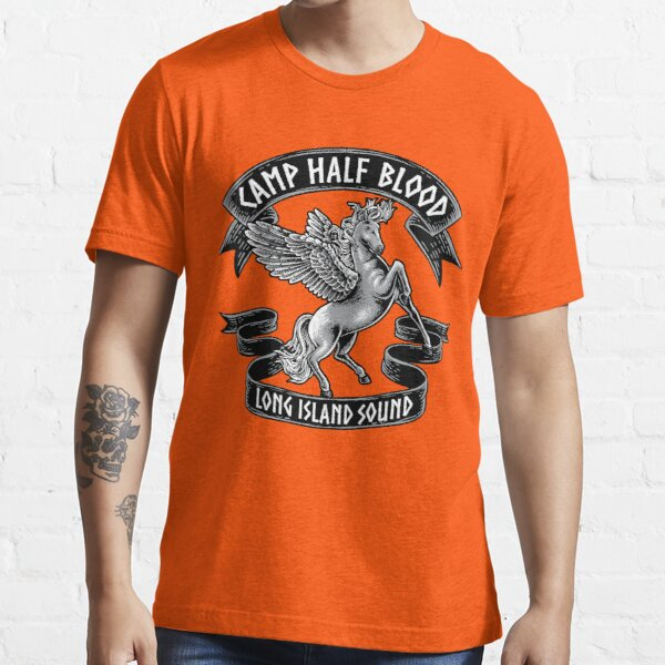 Camp Half Blood - T Shirt Son of Poseidon for kids Orange Essential T-Shirt