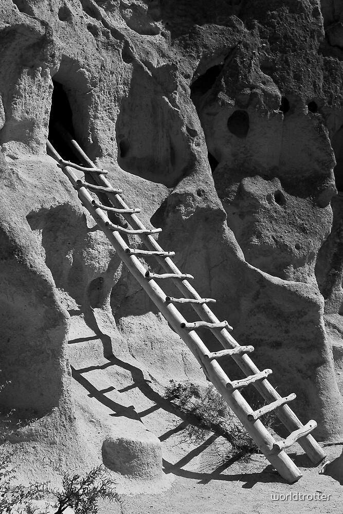 Ancient Pueblo Dwellings, New Mexico by Tomas Abreu