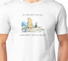 """Keane """"Somewhere Only We Know"""" Unisex T-Shirt"""