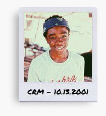 Caleb McLaughlin Polaroid Edit Canvas Print
