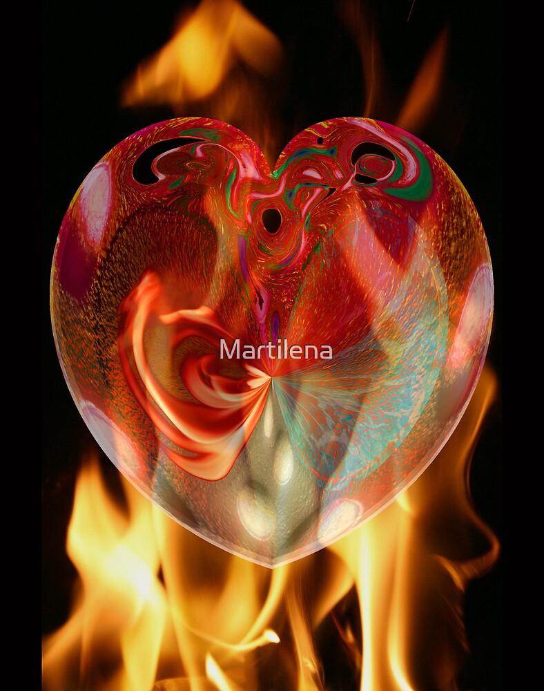 Heart On Fire by Martilena