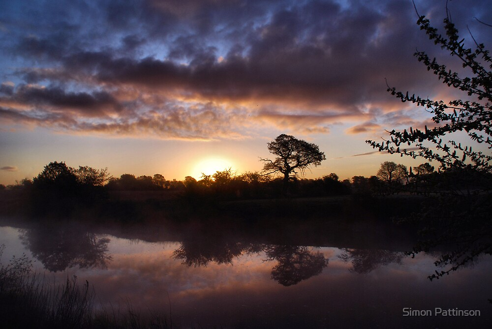 Morning In Reflection by Simon Pattinson