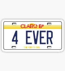 Clairo- 4ever Sticker