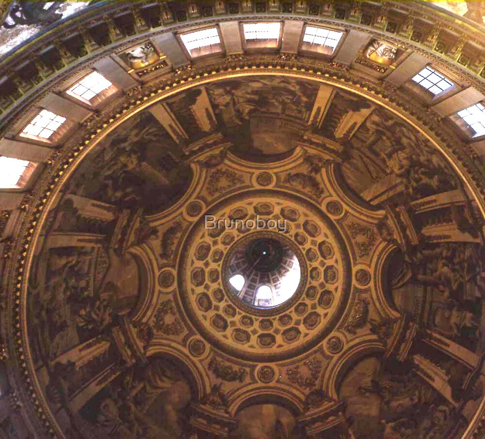 The Dome, St. Pauls Cathedral. by Brunoboy