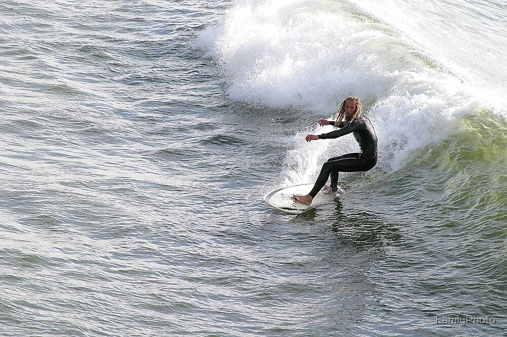 Surfer Man by FamlyPhoto