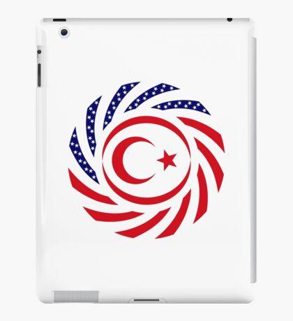 Northern Cyprus American Multinational Patriot Flag Series iPad Case/Skin