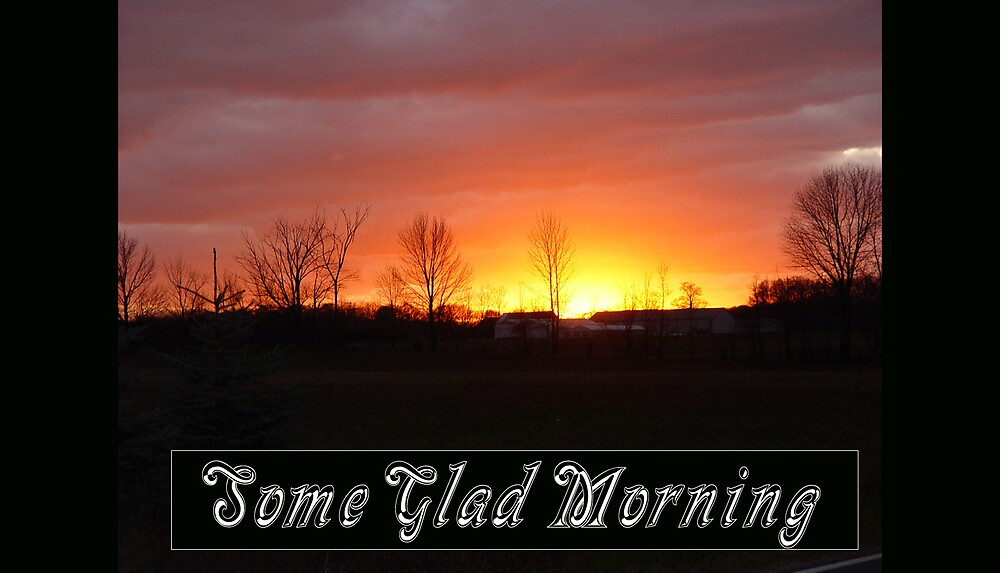 Some Glad Morning, I'll Fly Away by Dennis Burlingham