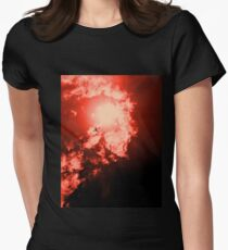 Men on Fire Women's Fitted T-Shirt
