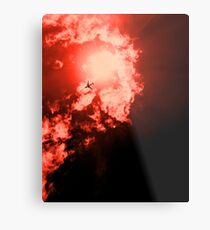Men on Fire Metal Print