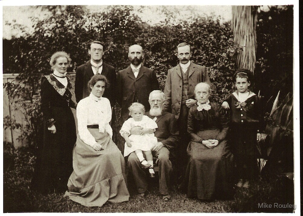 The Family (as this photo is affectionately known) by Mike Rowley