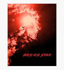 Men on Fire II Photographic Print
