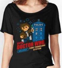 Super Doctor Who Women's Relaxed Fit T-Shirt