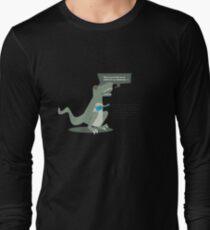 Ukulele T-Rex Long Sleeve T-Shirt