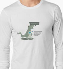 Ukulele T-Rex Long Sleeve T-Shirt
