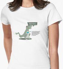 Ukulele T-Rex Women's Fitted T-Shirt