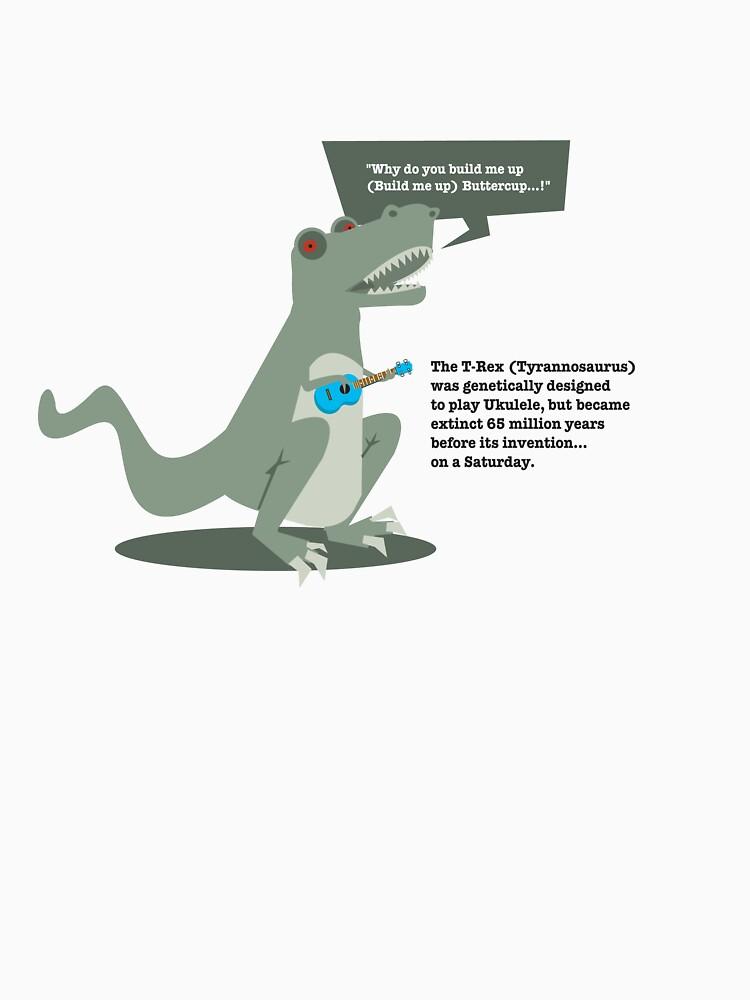 Ukulele T-Rex by reeceward