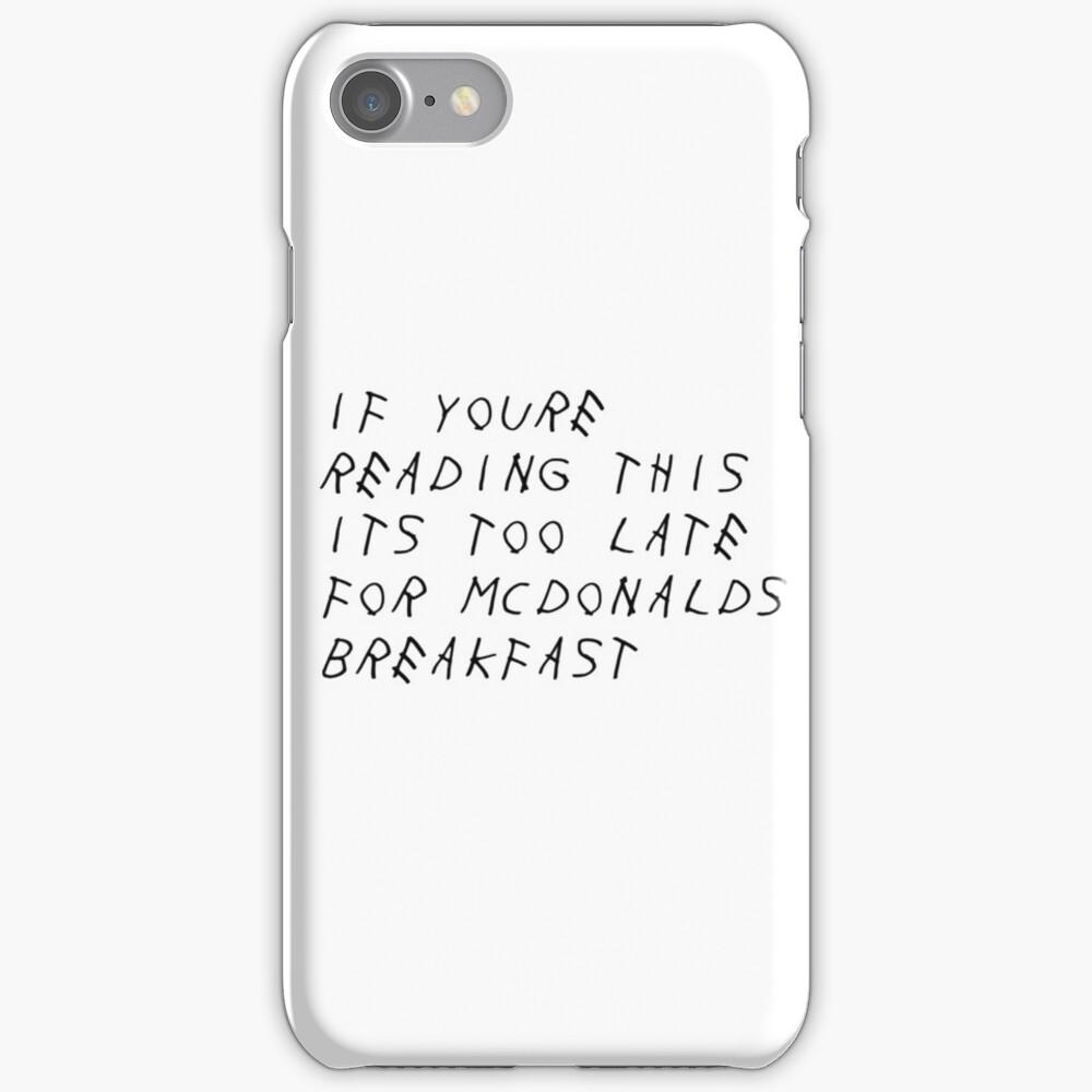 Drake McDonalds Album iPhone Case & Cover
