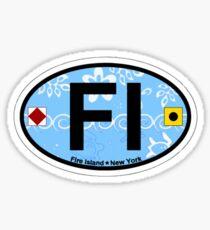 Fire Island - New York. Sticker