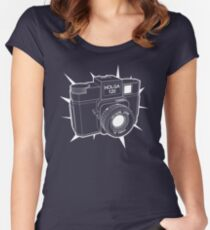 Holga Women's Fitted Scoop T-Shirt