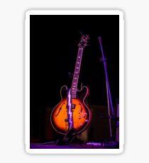 Guitar on Stage Sticker
