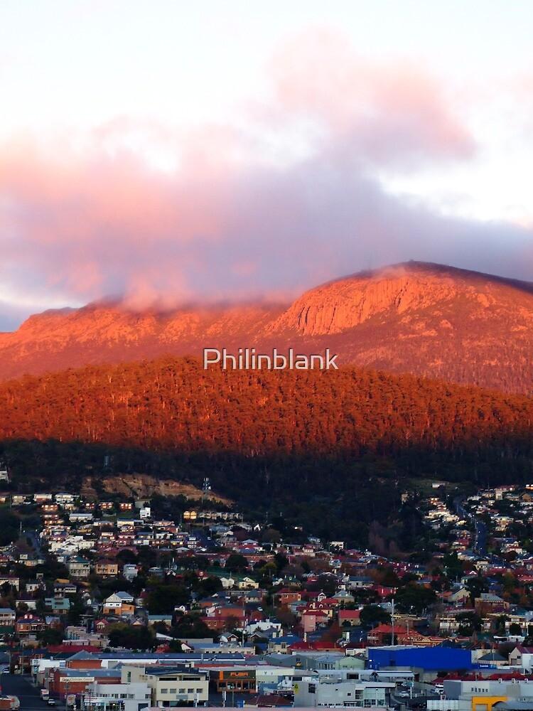 Dawn on Mt Wellington by Philinblank