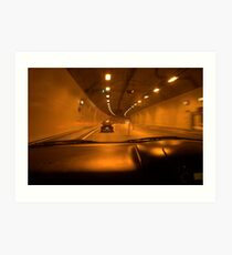 The Tunnels, Adelaide Hills, S.A. Art Print