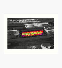 Voltron Acid Art Print