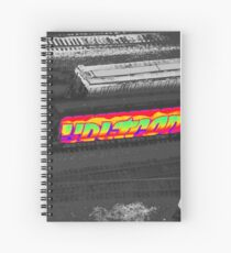 Voltron Acid Spiral Notebook