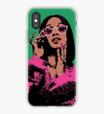 Cardi B pop art iPhone Case