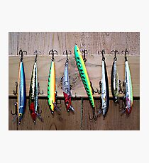 Fish Lures Photographic Print
