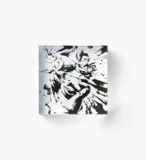 Megaman / Rockman X Painting Acrylic Block