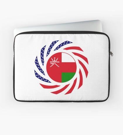 Omani American Multinational Patriot Flag Series Laptop Sleeve