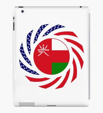 Omani American Multinational Patriot Flag Series iPad Case/Skin
