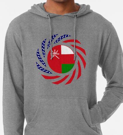 Omani American Multinational Patriot Flag Series Lightweight Hoodie