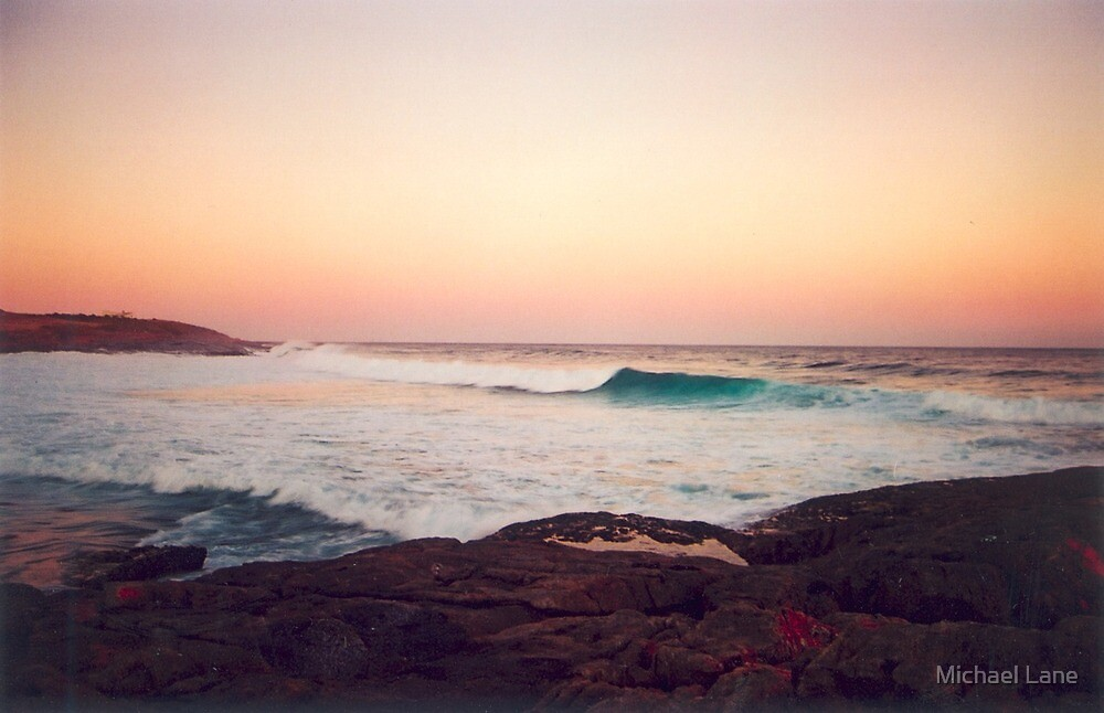Sunset Surf by Michael Lane