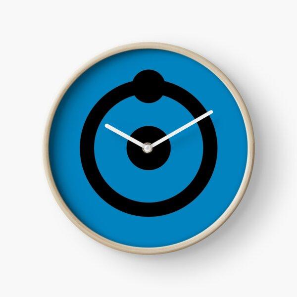 Doctor Manhattan Hydrogen Atom Symbol Clock